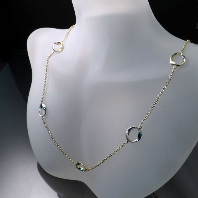 Modern Gold Necklace