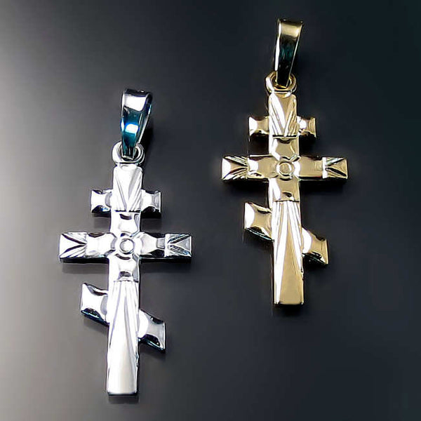 Saint Andrew Orthodox Cross Medium