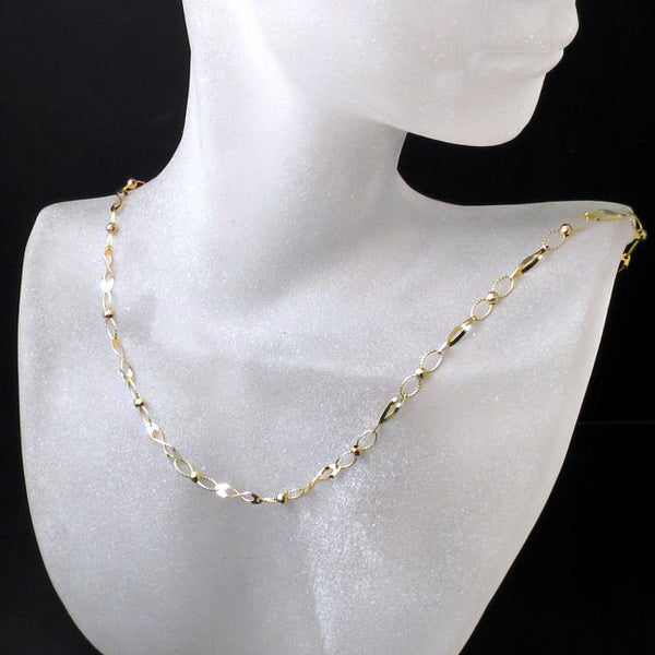 unique gold chain for ladies