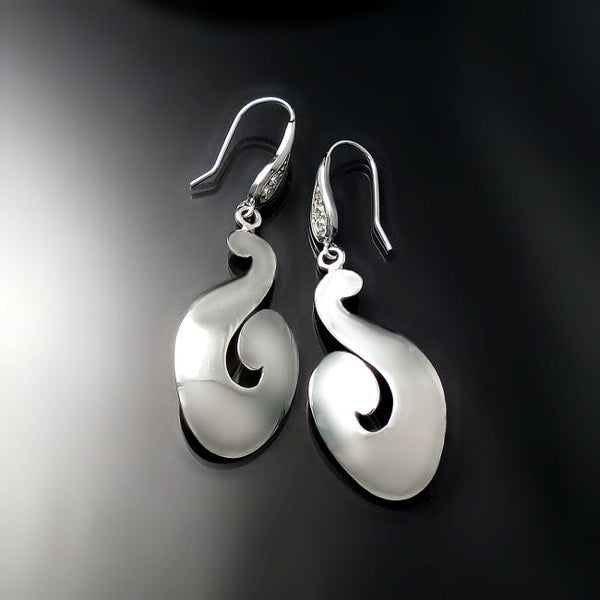 unique jewelry silver earrings