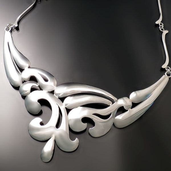 Unique silver jewelry