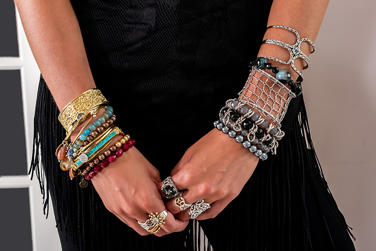Jewelry-wearing is not just an accessory, but a statement!