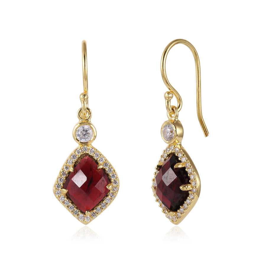 16k Gold Plated Earrings (117639)
