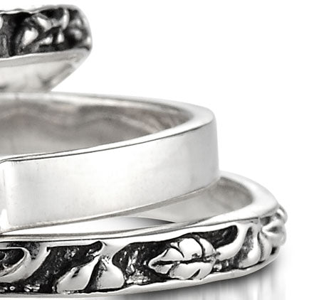 Sterling Silver Stacking Ring (1195ST)