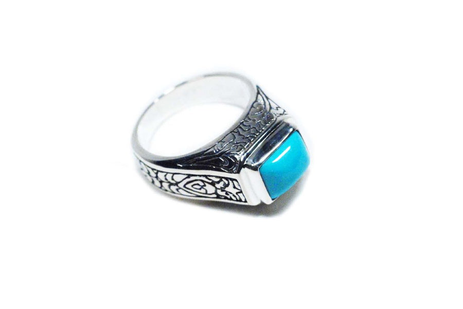 Sterling Silver Ring (1213TQ)