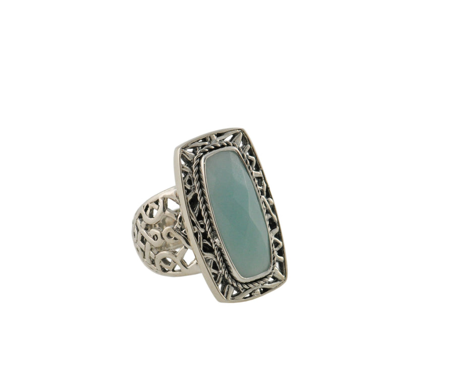 Sterling Silver Ring (1280AMZ)