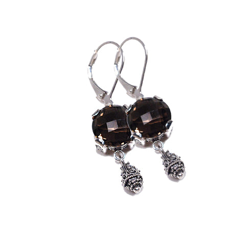 Sterling Silver Earrings (3426SQ)