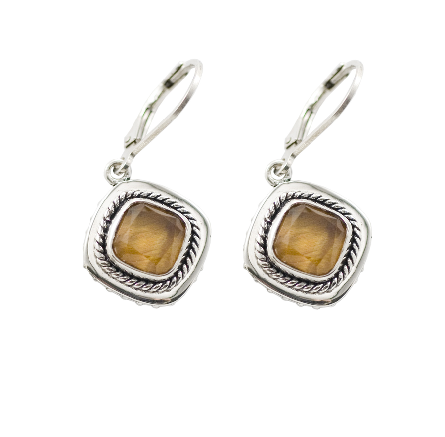Sterling Silver Hippie Chic Earrings (3548TE)