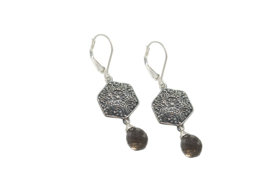 Sterling Silver Earrings (3615ST)