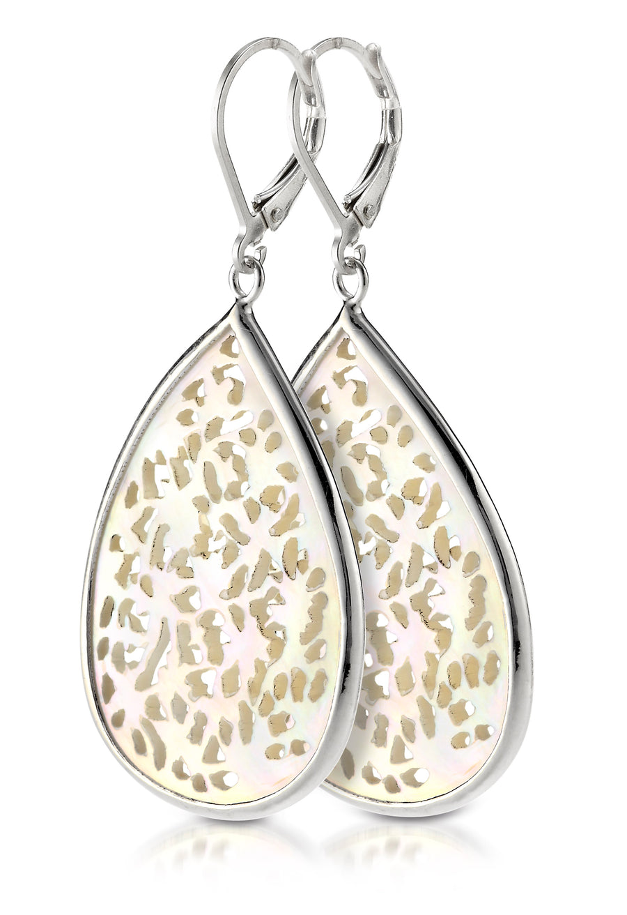 Sterling Silver Earrings (3638MOP)