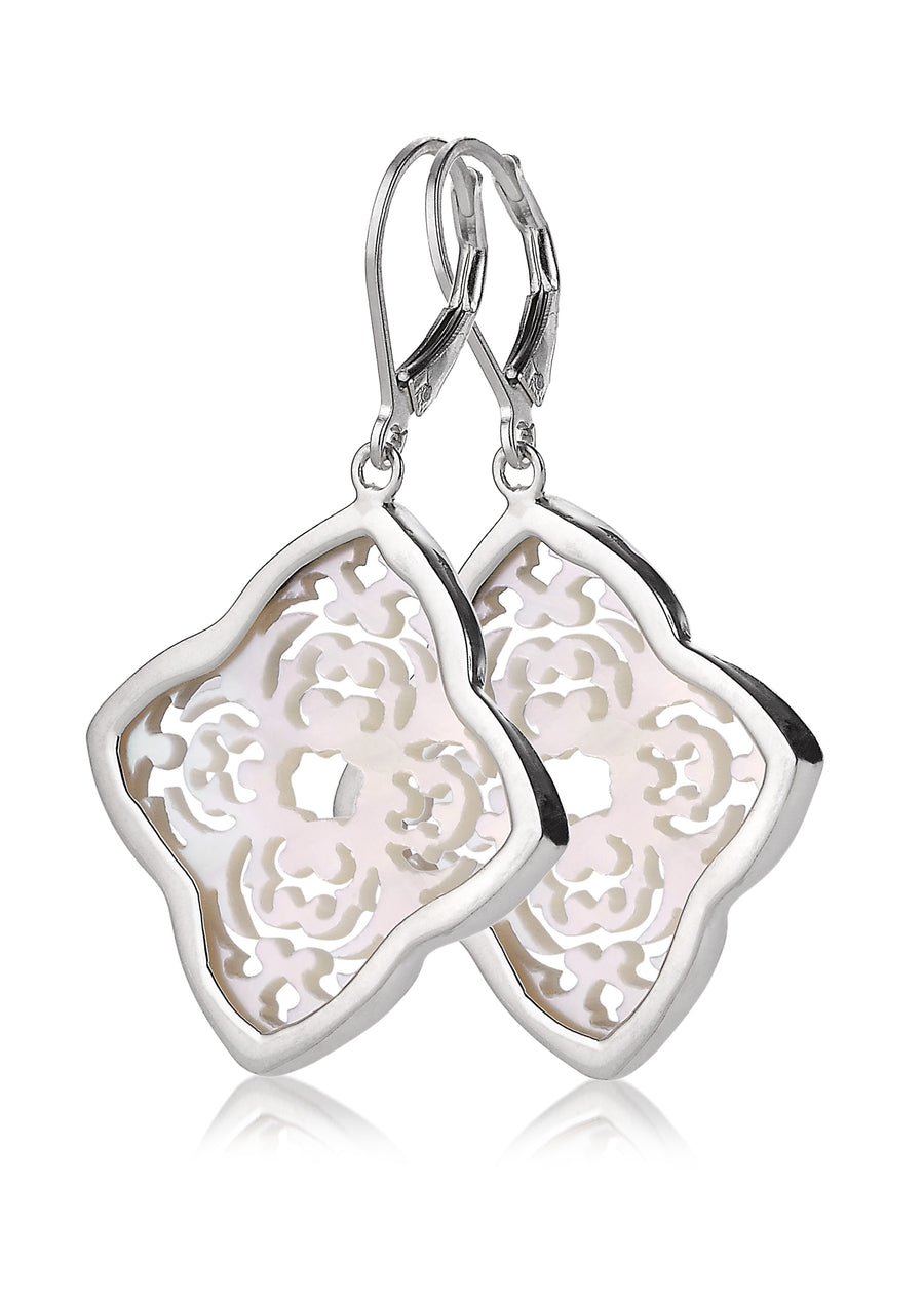 Sterling Silver Earrings (3640MOP)