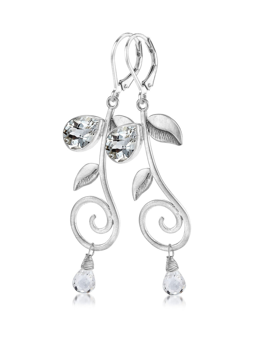 Sterling Silver Earrings (3732WT)