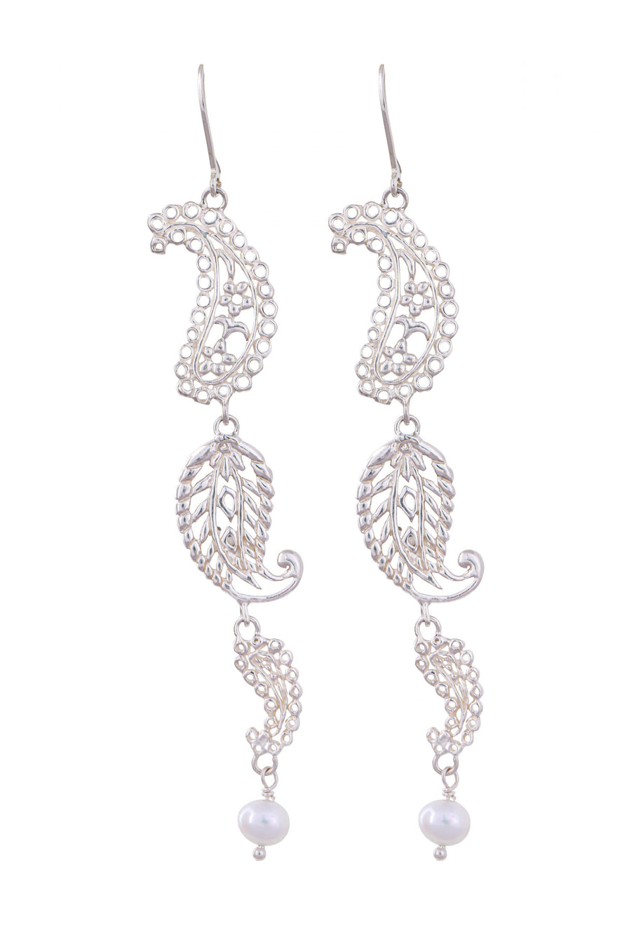 Sterling Silver Earrings (3760WP)