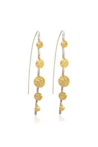 18k Vermeil Confetti Earrings (3867SS/GP)