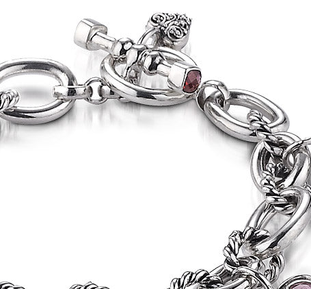 Sterling Silver Romantic Bracelet