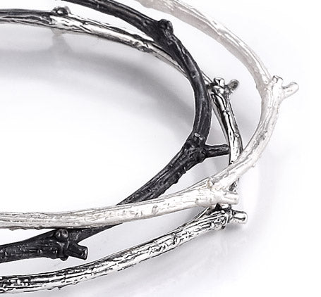 Sterling Silver Bangles (5749)