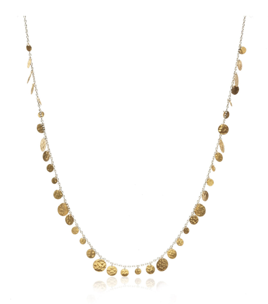Sterling Silver & Vermeil Necklace (8001SS/GP)