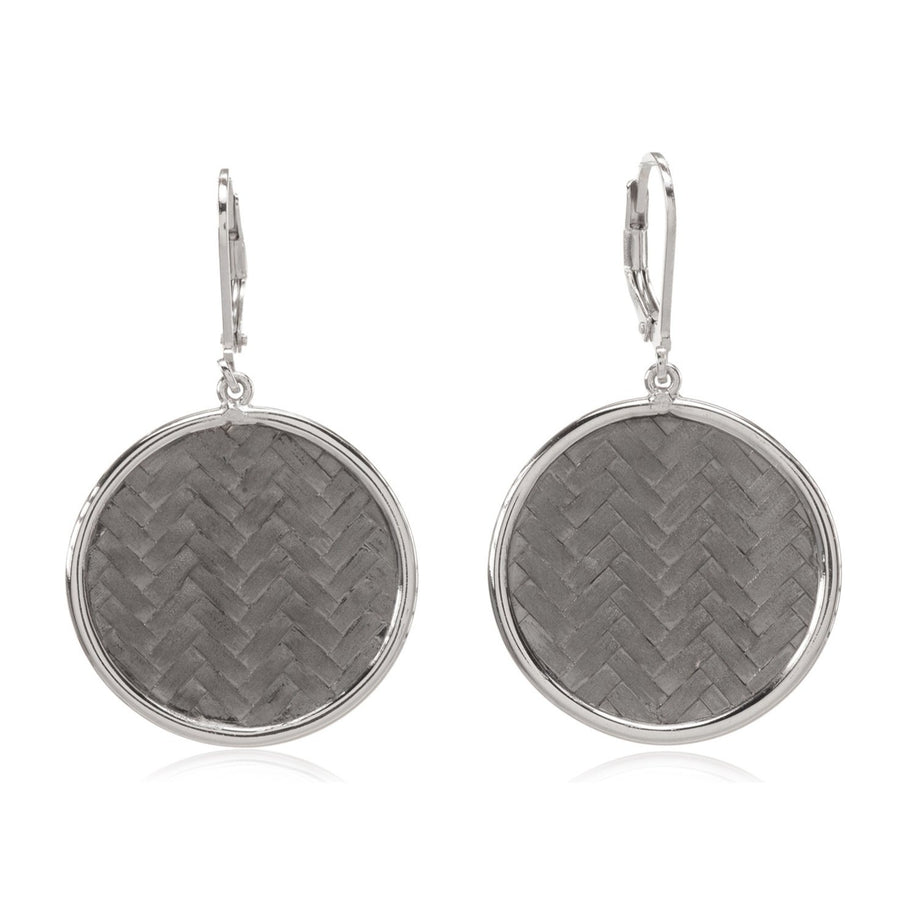 Sterling Silver Earrings (92300KS)