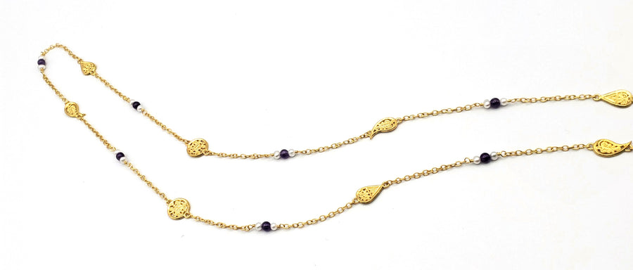 18k Gold Plated Layering Necklace (EL012)