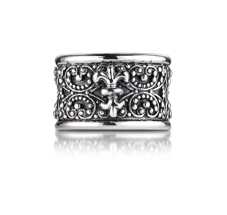 Filigree Sterling Silver Ring (G8R1)