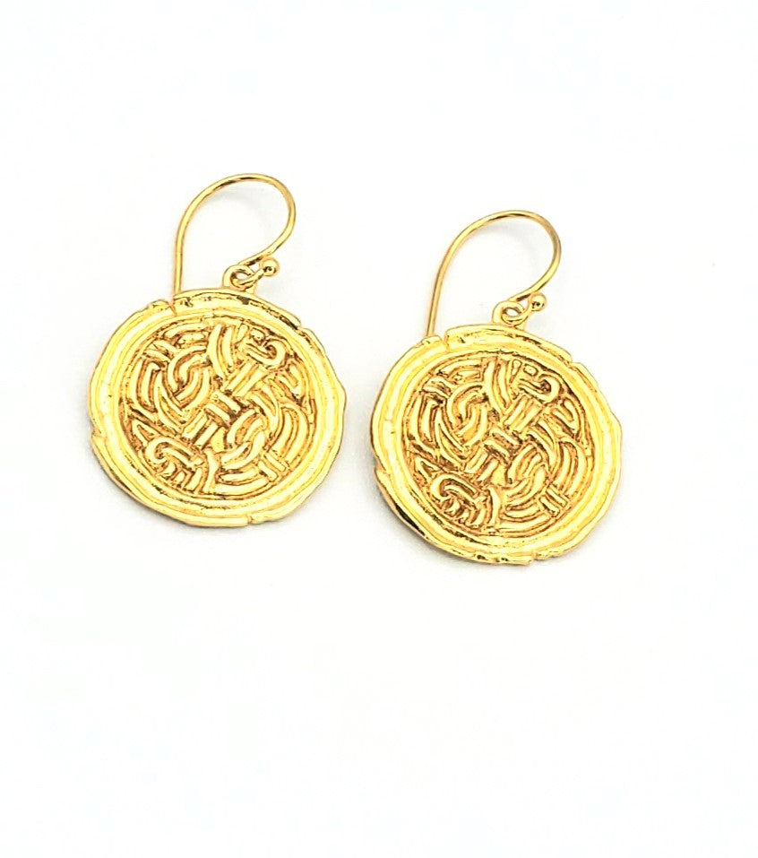 18k Gold Plated Earrings (MM013)
