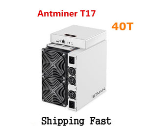 BITAMAIN Newest BTC BCH Miner AntMiner T17 40TH/S With PSU Better Than S17 Pro S15 S11 S9 T15 Innosilicon T3 WhatsMiner M3X M20S - Mining Bonanza