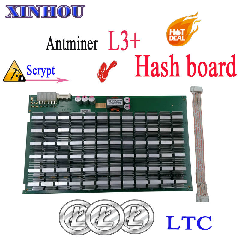 Litecoin LTC Miner BITMAIN Antminer L3+ Hash Board Scrypt ASIC For Replace The Bad Hash Board Of L3+ - Mining Bonanza