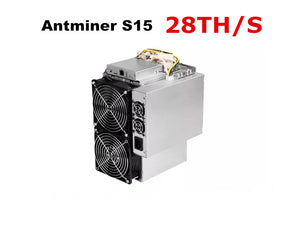 BITMAIN 7nm BTC BCH Miner Used AntMiner S15 28T With PSU Better Than S9 S9j Z9 Mini WhatsMiner M3 M10 - Mining Bonanza