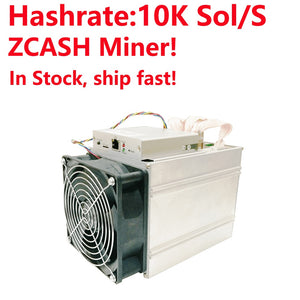 In Stock, Ship Fast! Bitmain Antminer Z9 Mini 10k Sol/s 300W Asic Equihash Miner Newest ZCASH Miner with normal power supply - Mining Bonanza
