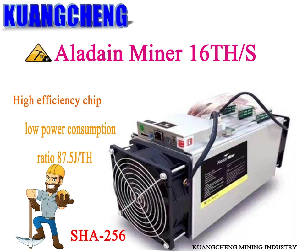 Used Innosilicon Dragonmint T1 15TH/s SHA256 Asic BTC BCH Miner no PSU Better Than Antminer S9 T9+ S11 S15 Whatsminer M3