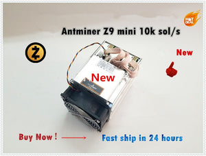 Used ZCASH Miner Antminer Z9 Mini 10k Sol/s 300W Asic Equihash Miner Mining ZEN ZEC,Low Power Cost,High Profit - Mining Bonanza