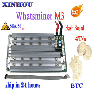 Original ASIC miner WhatsMiner M3 11.5T-12T Hash Board For Replace The Bad Part Hash Board Of WhatsMiner M3X 11.5T-12T - Mining Bonanza