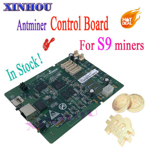 BTC BCH mining S9 control board Applicable to ANTMINER S9 14.5T 14T 13.5T 13T 12.5T 12T 11.89T Bitcoin miner Accessories - Mining Bonanza