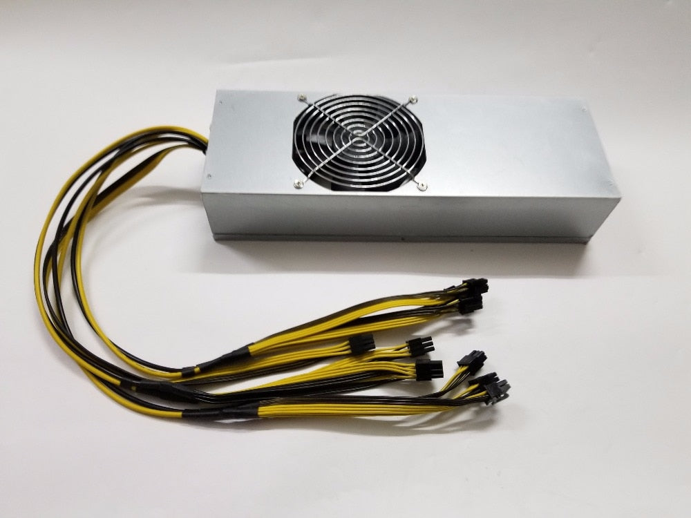Miner PSU 110V/220V 2400W PSU for btc ltc dash mining power suitbale for Antminer S7 S9 D3 A3 baikal X10 Giant-B  super power - Mining Bonanza