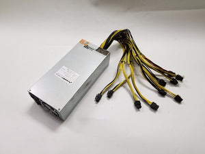 power supply  2500w 12V 183A output Include 10pcs 6Pin connector for Antminer S7 S9 D3 A3 Baikal X10 Giant-B WhatsMiner M1 M2 M3 - Mining Bonanza