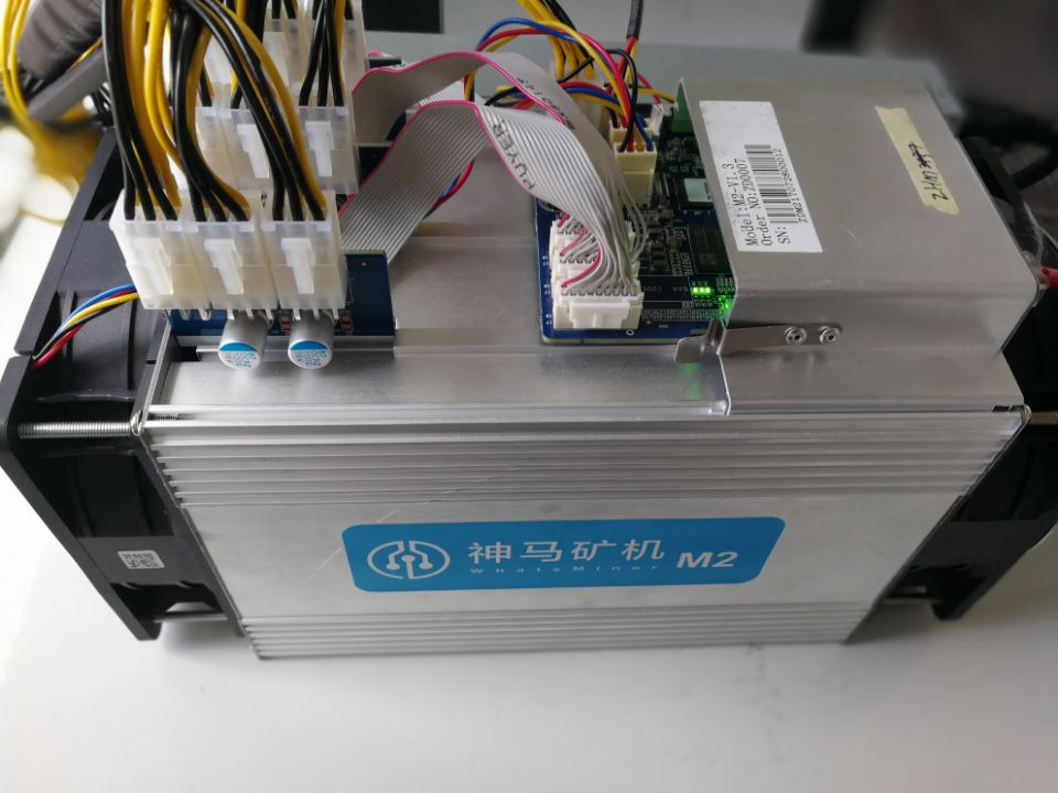 Used Whatsminer M2 9.3TH/s Bitcoin and Bitcoin cash Miner with Normal power supply good quality - Mining Bonanza