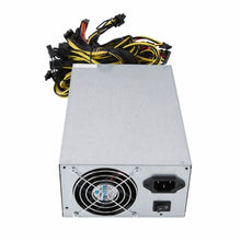 Load image into Gallery viewer, 1800W High Efficiency Power Supply for ATX Coin Mining Miner Machine 6 GPU ETH BTC Ethereum with Low Noise Cooling Fan - Mining Bonanza