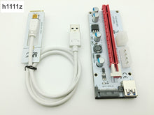 Load image into Gallery viewer, Riser White 008S NGFF M.2 PCIE PCI-E 1X 2X 4X 8X 16X USB 3.0 Adapter Card 60cm Data Cable for BTC Mining Bitcoin Miner Antminer - Mining Bonanza