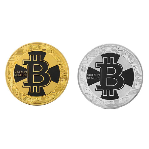 Hot Sale Bitcoin Litecoin Dash Coin Non-currency Gold-plated Iron Commemorative Collectible Coins Art Collection Souvenir Gifts - Mining Bonanza