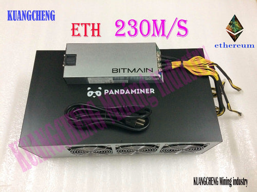 KUANGCHENG Mining industry PandaMiner 230MH Ethereum GPU Miner ETH Zcash XMR Supported Newest Ether Miner for Ether Zcash Mining - Mining Bonanza