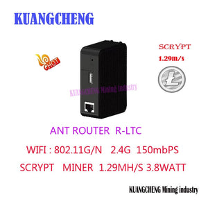 Wireless Router with LTC miner   WiFi Repeater BITMAIN R1 LTC miner 1.29M scrypt miner  Make money for wireless routing - Mining Bonanza
