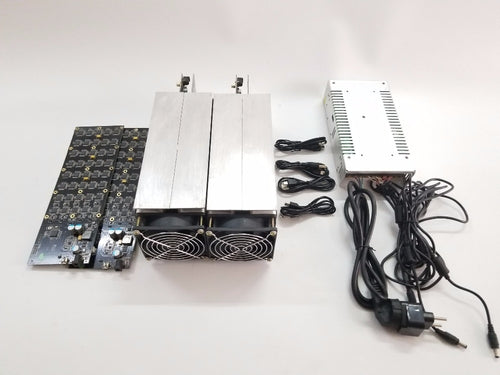 Used Gridseed miner 5.2MH/S x 2 pcs a set Litecoin mining machine two pcs gridseed blade a set with the power supply