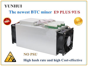 Bitcoin Miner  USED Ebit E9 Plus 9T 14nm Asic Miner BTC BCH Miner (no psu) high Cost-effectiv than S9 - Mining Bonanza