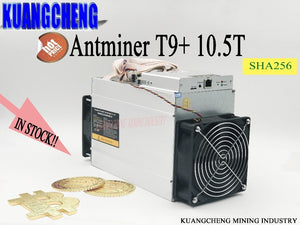 old SHA256 algorithm  AntMiner T9+ 10.5T Bitcoin BCH BTC Miner ASIC Miner Economic Than Antminer S9 S9i - Mining Bonanza