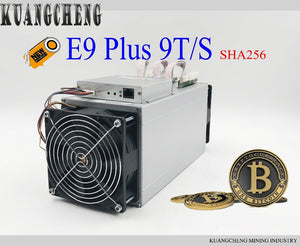 In stock!!Asic Miner Ebit E9 Plus 9T 14nm Miner integrated machine better than Antminer S9 for BTC BCH - Mining Bonanza