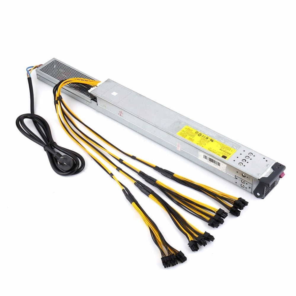 200-240V Miner Power Supply 2450W Mining Machine Power Supply For Eth Bitcoin Miner Antminer Server S9 / S7 / L3+ - Mining Bonanza