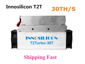 New Innosilicon T2T 30T With PSU Bitcoin BTC BCH Miner Better Than Antminer S9 S11 S15 S17 T9+ T15 T17 WhatsMiner M3 M10 - Mining Bonanza