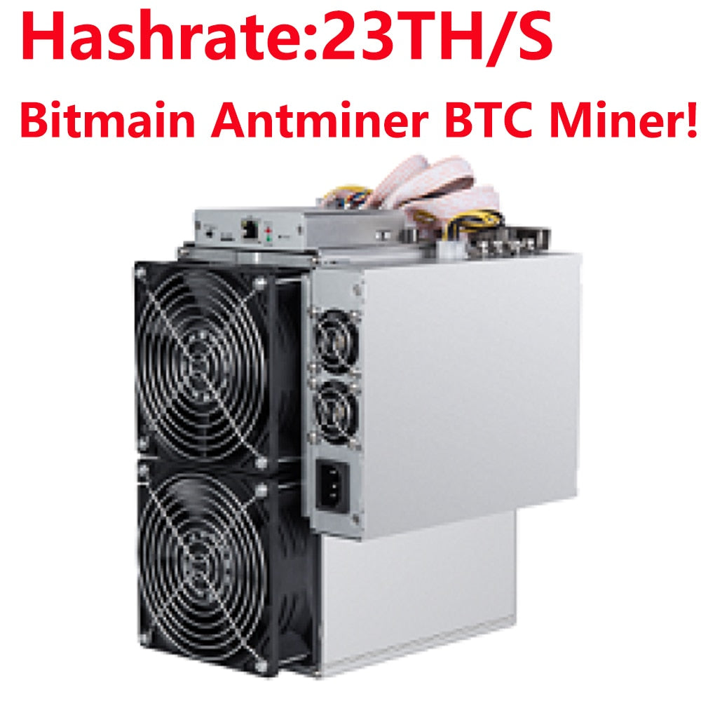 In stock! Antminer T15 Bitmain Newest 7nm BTC BCH/BCC Miner! AntMiner T15 23T SHA-256 Miner with APW8 PSU Asic New Miner - Mining Bonanza