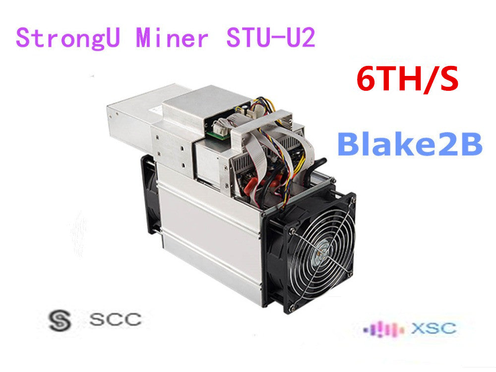 New Asic SCC XSC Miner StrongU Miner STU-U2 6TH/S With PSU Blake2B Better Than Antminer A3 Innosilicon S11 - Mining Bonanza