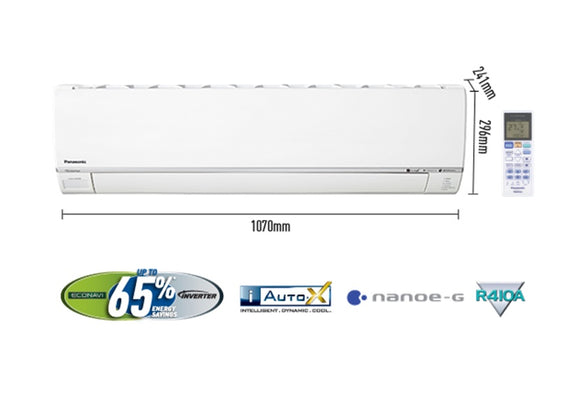 Panasonic Inverter Split AC 2 Ton CS 24SKH